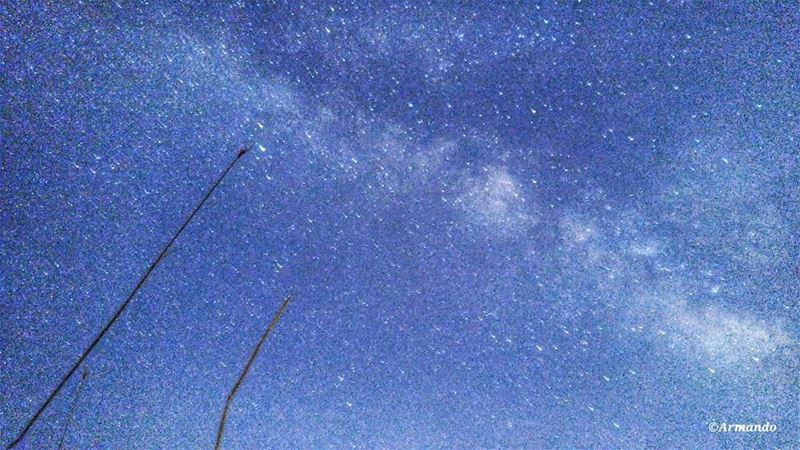 Let's pretend each star is a group of aliens having a bonfire! Enjoy 👻✨-... (Sannine Heights)