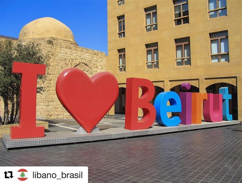 ❤️ Repost @libano_brasil (@get_repost)・・・Like the post who loves this... (Downtown Beirut)