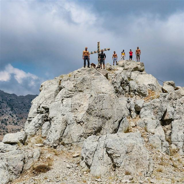 Children of the Mountain 🏔️ hike mountain climb rocks hikers peaks ...