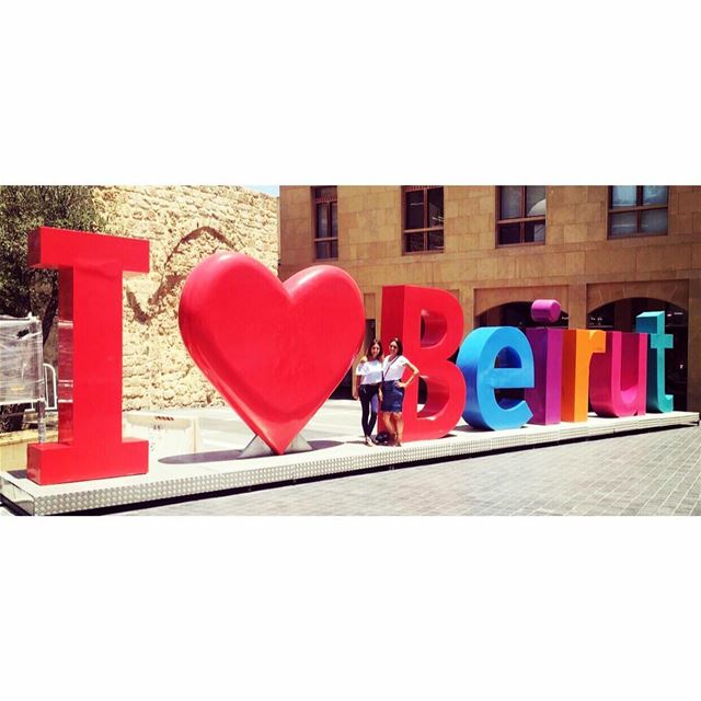 We definitely love you Beirut ❤️ 🇱🇧🕊🌲 555 arabic no new friend girls... (Beirut Souks)