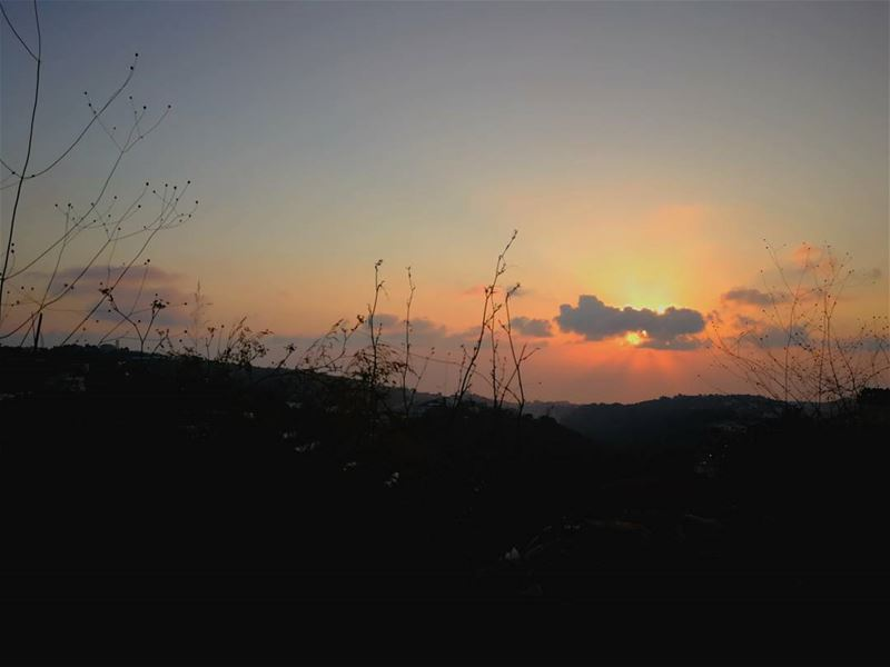 """the tired sunsets and the tired people - it takes a lifetime to die and... (Kfun, Mont-Liban, Lebanon)"