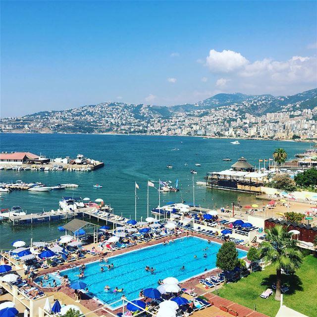 Back in Jounieh! Lebanon lebanoninapicture ... (Bel Azur)