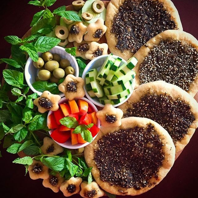 🌱Lebanese Mini Zaatars😋🌿..@jessica.moufarrej 💚💚............ (Germany)