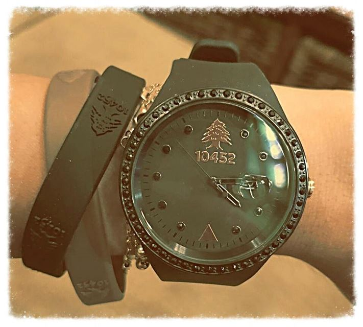 love my new fashionwatch ❤ ordernow 10452DNA worldwidedelivery ... (Bikfaïya, Mont-Liban, Lebanon)