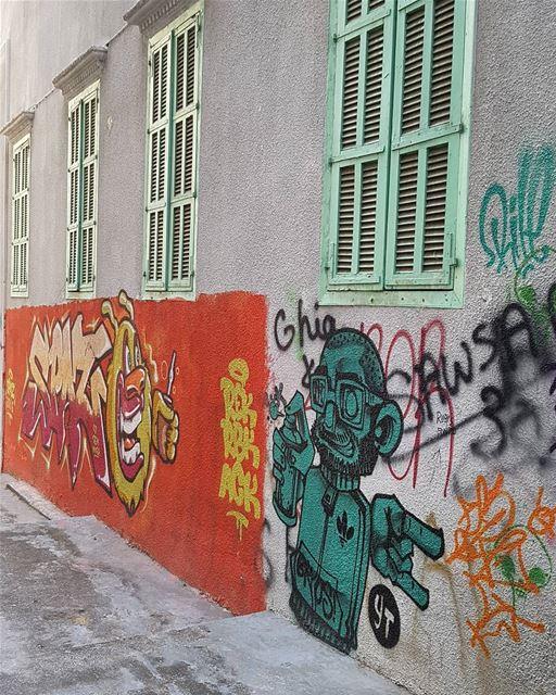 Graffiti in Mar Mikhael, Beirut. latergram graffiti streetart ... (Mar Mikhael-Armenia The Street)