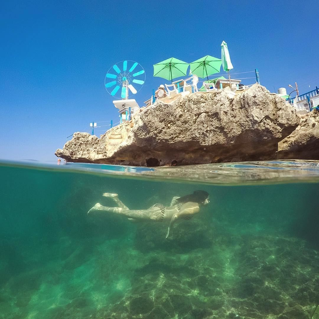 Happy day 🏖️ SummerIsNotOverBy @nady83 Anfeh Ta7tElRi7 Liban Libano... (Anfeh, Lebanon)
