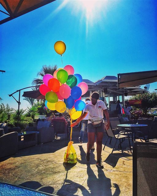 Balloons 🎈 shesonlyhappyinthesun livelovejounieh livelovejbeil ... (Aquamarina 2 Complex)