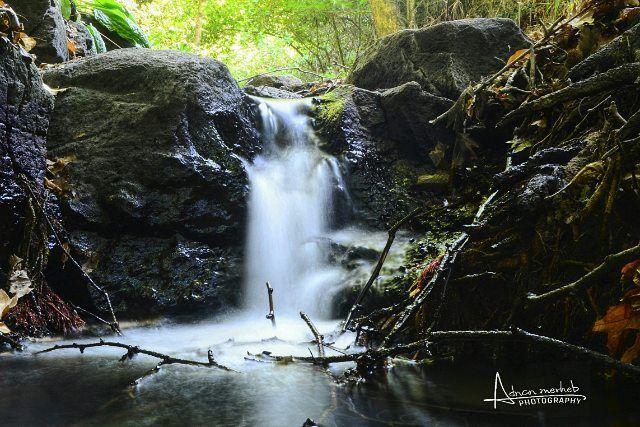 Mini waterfall 😍 nature socialenvy sky sun summer beach beautiful ... (Bardé, Liban-Nord, Lebanon)