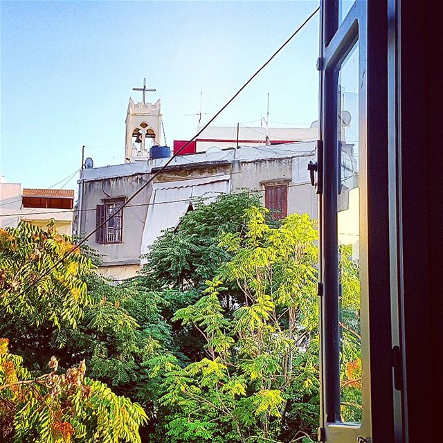 Room with a view in Mar Mikhael, Beirut. latergram window marmikhael ... (Marmikael Achrafieh)