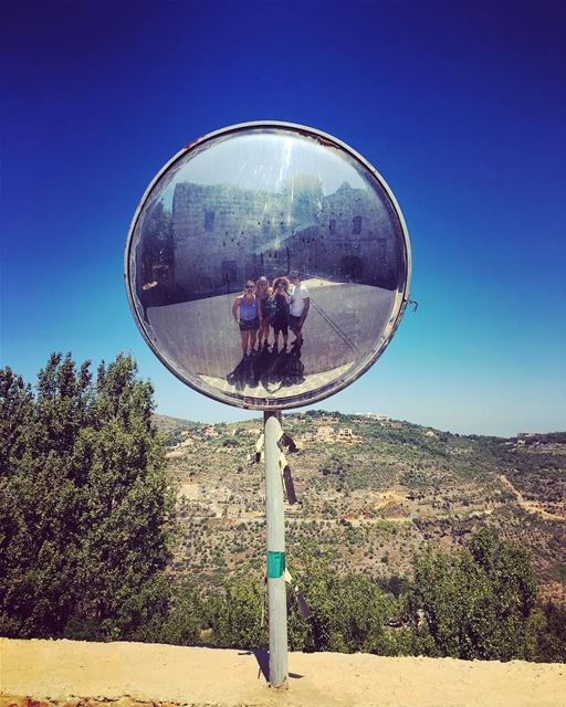Mirror mirror on the wall who's the fittest of them all...  mirror ... (Chouf)