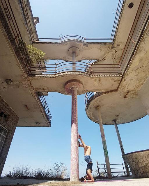 ~ Abandoned Hotel ~... abandoned abandonedplaces abandoned_junkies ... (Bikfaïya, Mont-Liban, Lebanon)