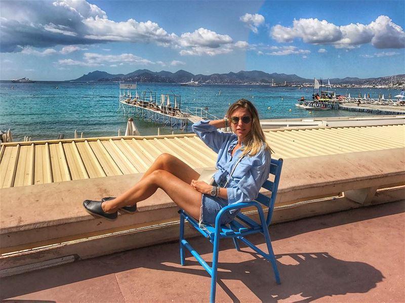 Un dernier goût de vacances ☀️🏝(et j'en avais marre de marcher 🙈) ... (Cannes La Croisette)