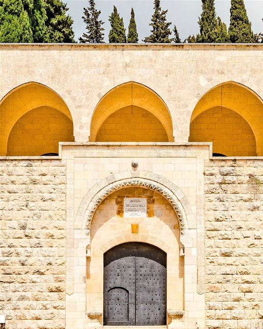Em qualquer canto do Palácio de Beiteddine, no Monte Líbano, é possível... (Beit Ed-Deen, Mont-Liban, Lebanon)