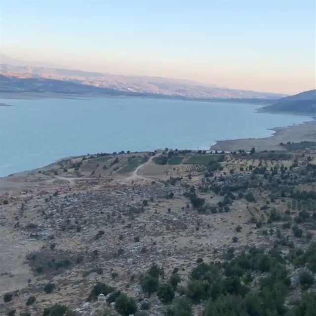livelivelebanon ... (Lake Qaraoun)