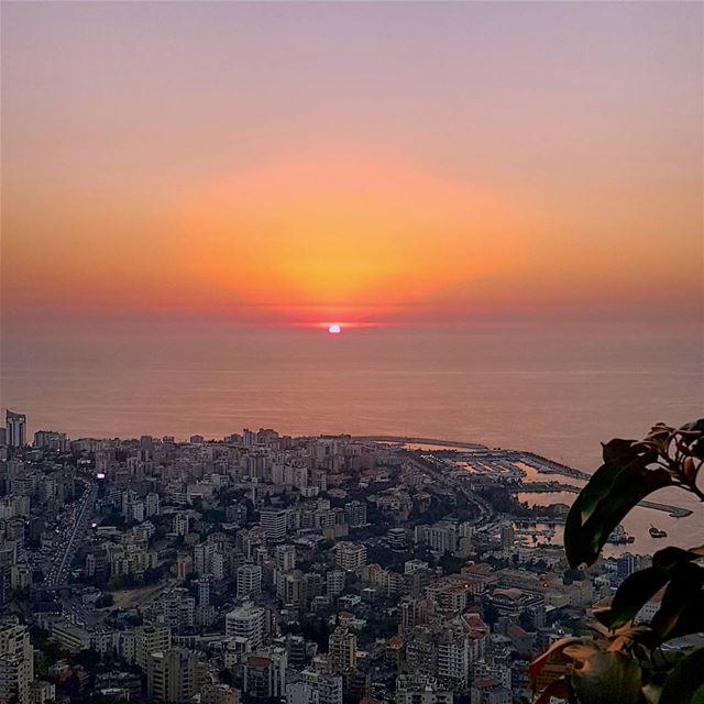 lebanon beirut harissa lebanonspotlights sunset sun Summer ... (Harisa, Mont-Liban, Lebanon)