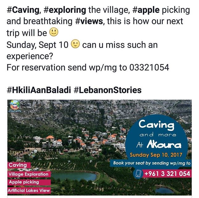 liveloveakoura livelovelaklouk✌🏼️ HkiliAanBaladi LebanonStories ...