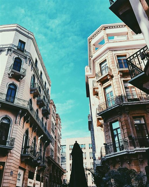 Beirut, your lines are... (Downtown Beirut)