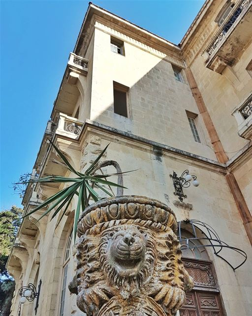 The hundred-year-old abandoned beautiful Grand Hotel in Alley...... (Alley, Mont-Liban, Lebanon)