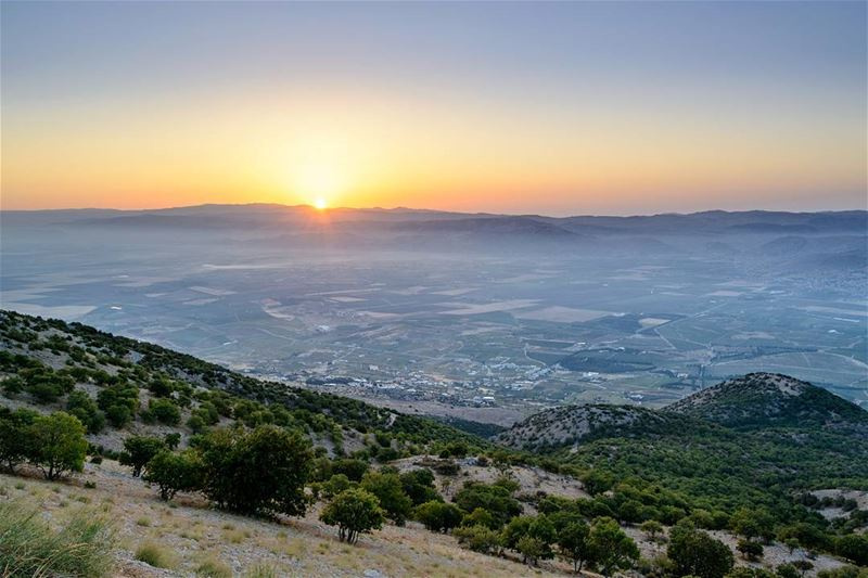 .Unusual sunrise! From Bekaa, Lebanon LiveLoveBekaa . So we go early 5... (West Bekaa)