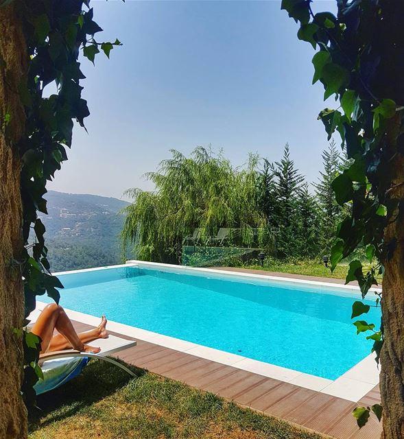Sunday chill sundayfunday sunday pool home relax sun fun ... (Brummana)