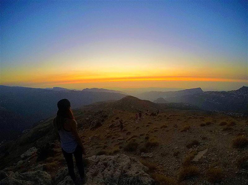 Sunset Chaser 💛🌄 sunset hadchit bcharre northlebanon gopro ... (Hadchît, Liban-Nord, Lebanon)