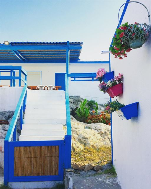 Blue blue bluuueeee💙.Aannddddddd WHITE ......... travel ... (Ta7T El Ri7)