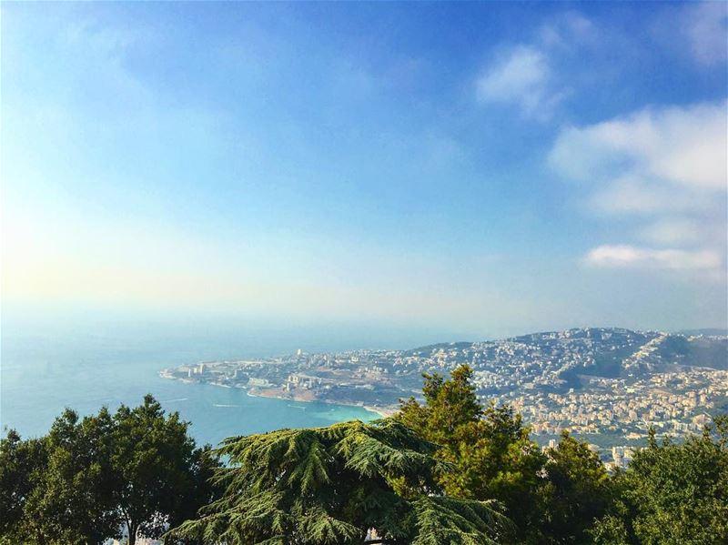 mycapture liveloveharissa livelovejounieh livelovelebanon harissa ... (Harîssa, Mont-Liban, Lebanon)