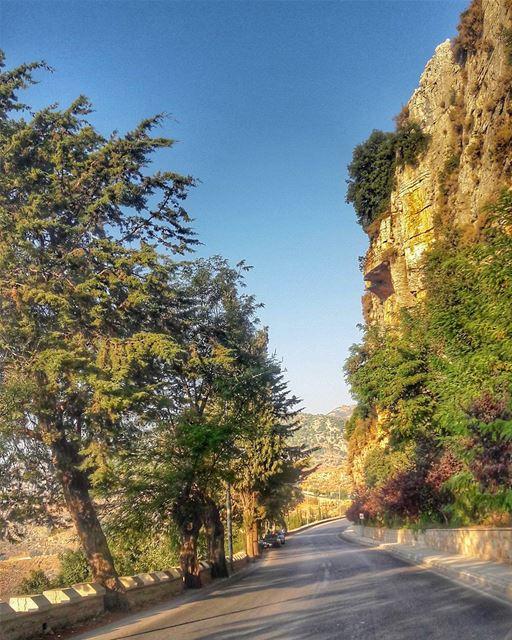 Perfect Roads 🌾 @livelove_jezzine livelovebeirut livelovelebanon ... (Jezzîne, Al Janub, Lebanon)