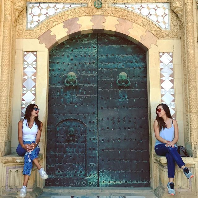 Open the door.. it might lead you somewhere you never expected!... (Beiteddine Palace)
