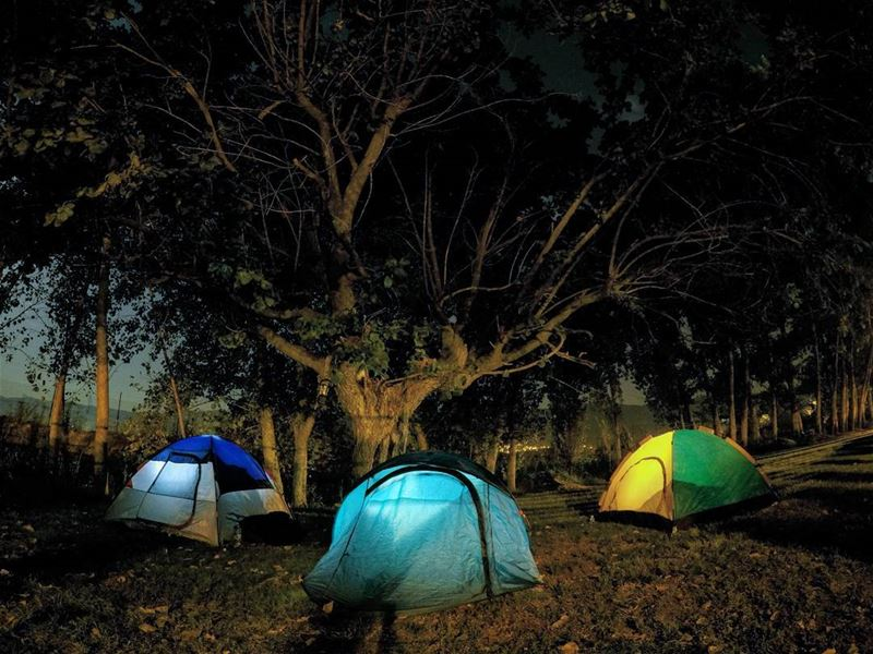 GonCamping 🌳⛺ Camping Tent SilentNight WestBekaa Kekaa Lebanon... (West Bekaa)