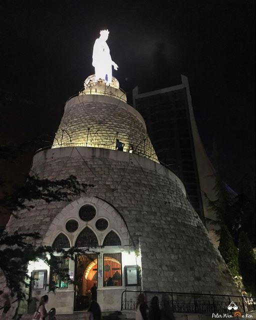 Best way to end the long Weekend ❤️ peterwenmaken Have a blessed evening... (Harîssa, Mont-Liban, Lebanon)