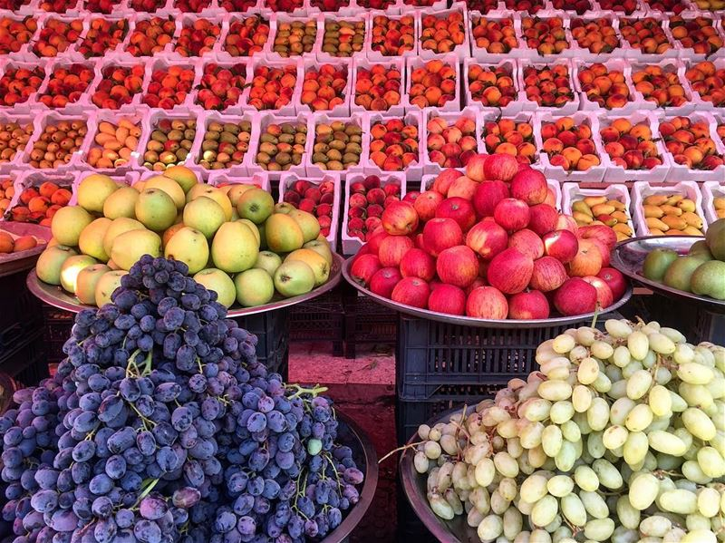 Amazingly displayed!  photography  fruits  colors  lebanon  summer ...