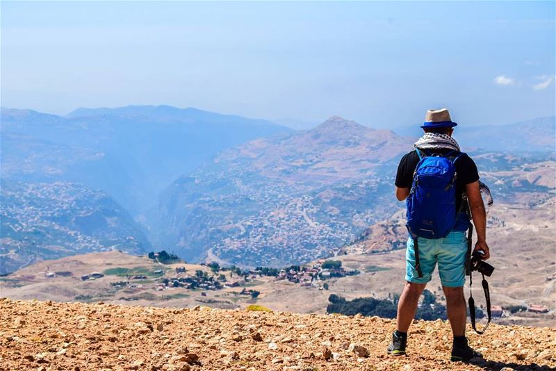One the edge of the clif... lebanon kornet_el_sawda nikon ... (Qurnat as Sawda')