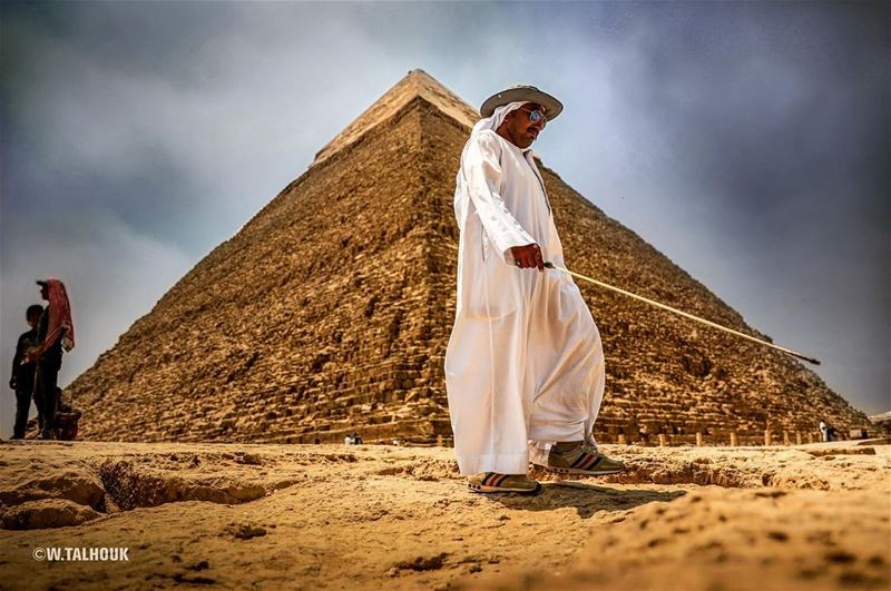 The pyramid shape is said to hold many secrets and amazing properties. One... (The Pyramids Egypt)