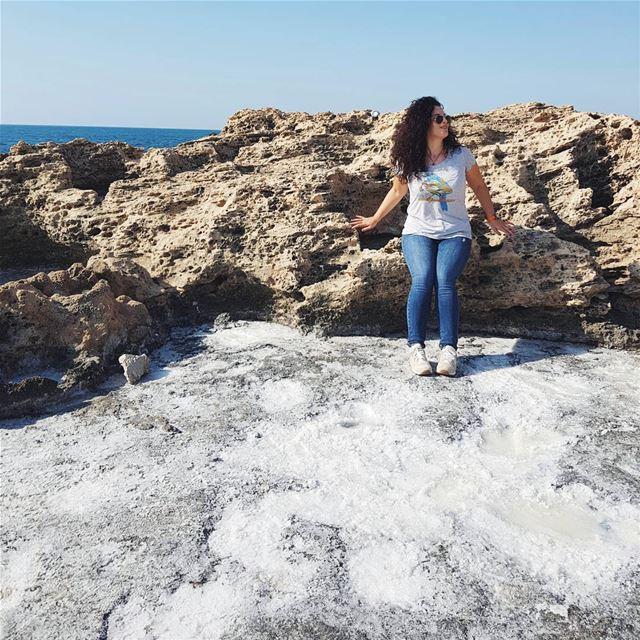 Somewhere on a planet made of sea salt 🌊⠀Есть у ливанцев один весомый не (Phoenicien Wall)