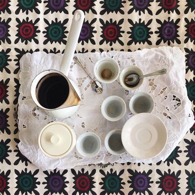 Coffee at Beit Douma. Good morning. Enjoy the moment. Enjoy your day....