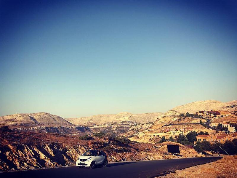 ~..Road Trips..~🚗 escape lustforlife thewayyouread thewayyoufeel ... (Kfardebian Lebanon)