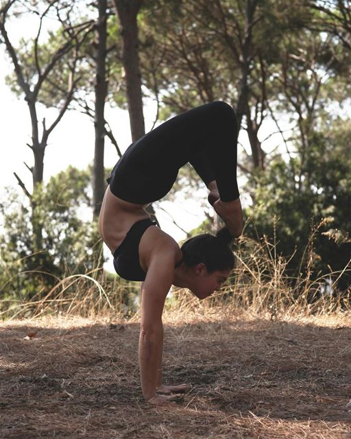 Scorpion pose - I used to look in awe at yogis in this posture and was...