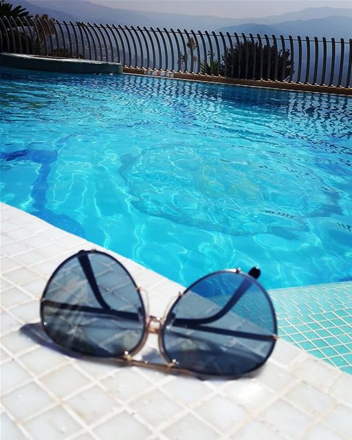 summertime and the living is still easy pool sun livelovelebanon...