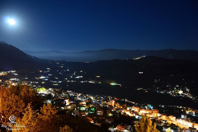 When Ehden make a Romantic date with her lovers under the moon light ♡... (Ehden, Lebanon)