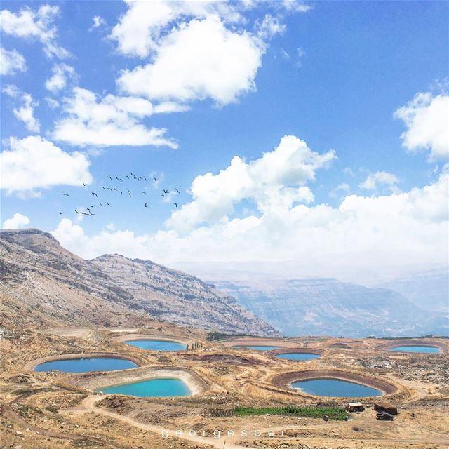 Akoura Lakes, Mount Lebanon 🇱🇧..... proudlylebanese ... (Akoura, Mont-Liban, Lebanon)