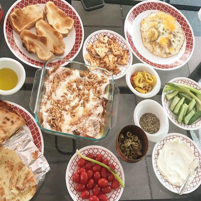الترويقة اللبنانية ❤️ lebanon🇱🇧 lebanesebreakfast lebanesefood ...