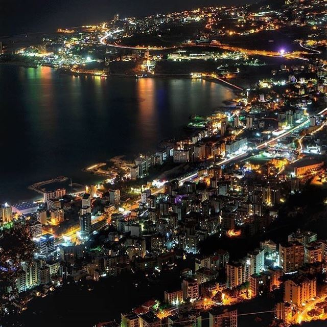 """""""I often think that the night is more alive and more richly colored than... (جونية - Jounieh)"""