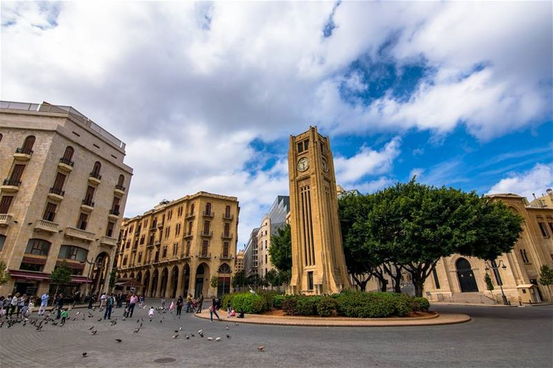 The heart of Beirut, the iconic clock tower 🕑 (Downtown Beirut)