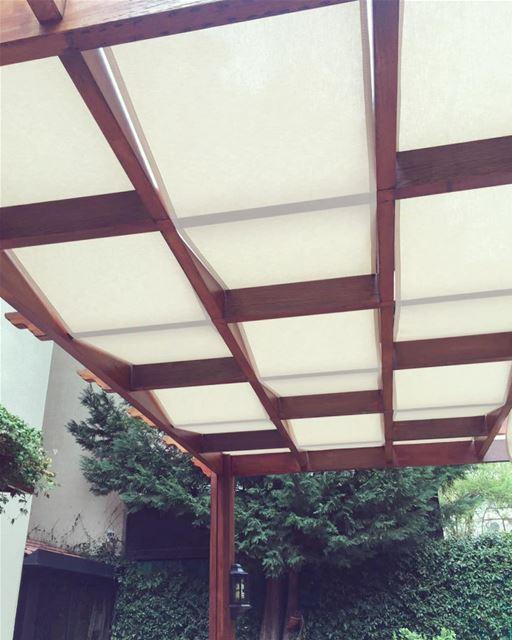 Zoom in for DETAILS.. PergolaKitsLebanon. Pergola Wood Beams Design ... (Kfarahbeb)