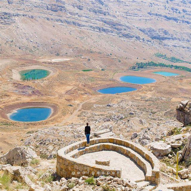 Akoura Lakes, Lebanon 🇱🇧...... proudlylebanese beautifullebanon ... (Akoura, Mont-Liban, Lebanon)
