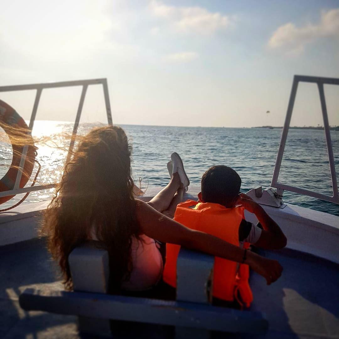 A new day has come 💙• onlyonelebanon oursky ourbeach ourlebanon ... (Tyre, Lebanon)