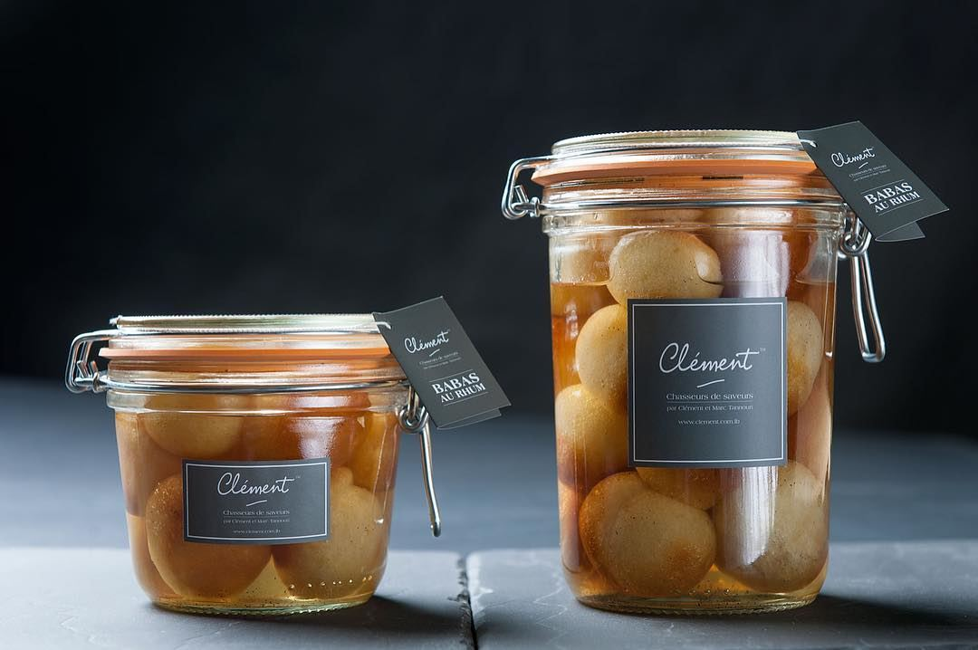 Because we know that our Babas in jars are irresistible, and because we...