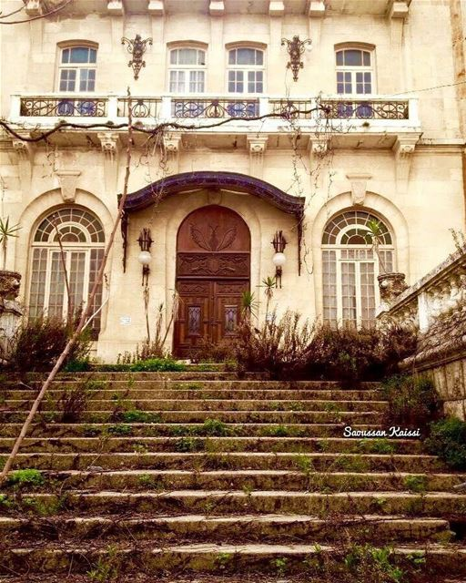 abandoned  old  heritage  hotel  architecture  stairs  VisitLebanon ...