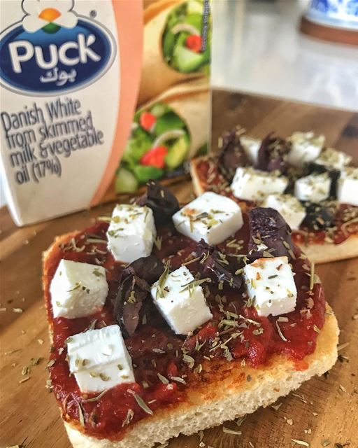 This super easy healthy meal using the New @PuckArabia Reduced Salt White...